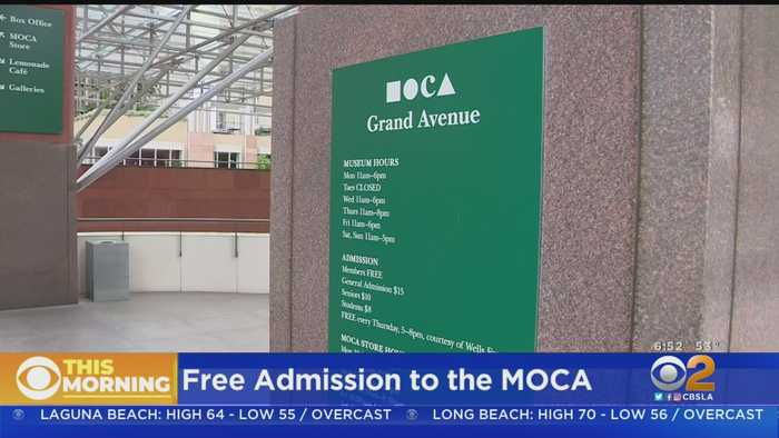 Board Of Trustee President Donation Will Make MOCA Admission Free