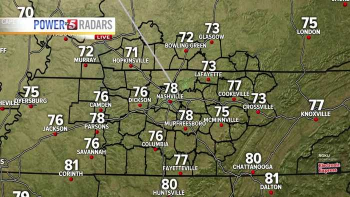 Lelan's afternoon forecast: Monday, May 20, 2019
