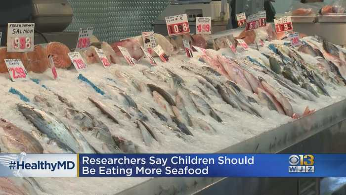 Healthwatch: Researchers Say U.S. Children Not Eating Enough Seafood