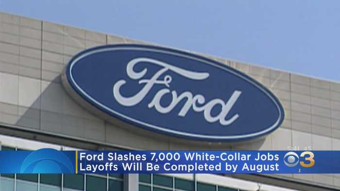Ford Laying Off 7,000 Workers
