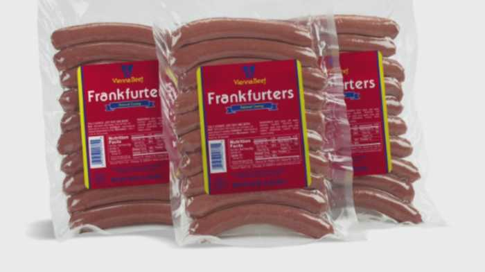 Vienna Beef Recalls Over 2,000 Pounds Of Meat