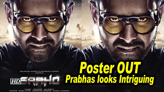 SAAHO Poster OUT | Prabhas looks Intriguing | Shraddha Kapoor | 15th August