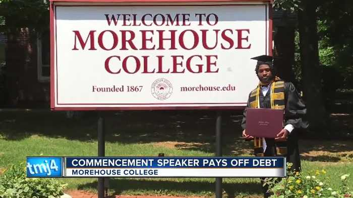 Morehouse College grad from Milwaukee has his student loans paid off by billionaire