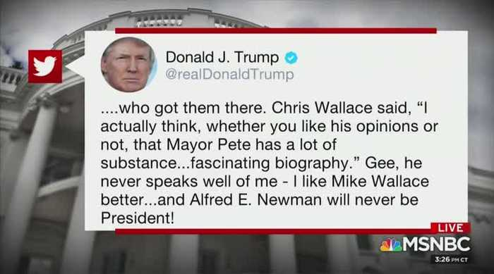 MSNBC's Nicolle Wallace loses it over Trump tweet criticizing Chris Wallace