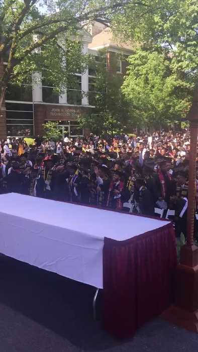Morehouse College Graduates Cheer After Billionaire Pledges to Clear Their Loans