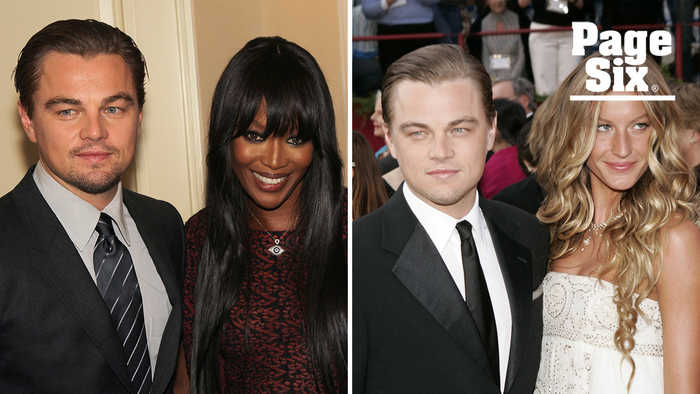 Leonardo DiCaprio's dating history is steamier than 'Titanic'