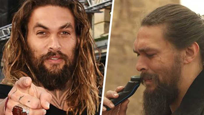 This Is The Real Reason Jason Momoa Shaved His Iconic Beard Off - And It's Beautiful