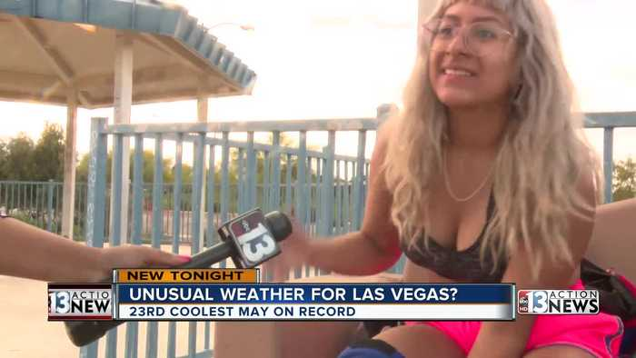 Mild May in Las Vegas has some people baffled