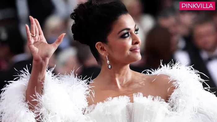 Cannes 2019 Aishwarya Rai Bachchan looks like a vision in white at the glamorous red carpet