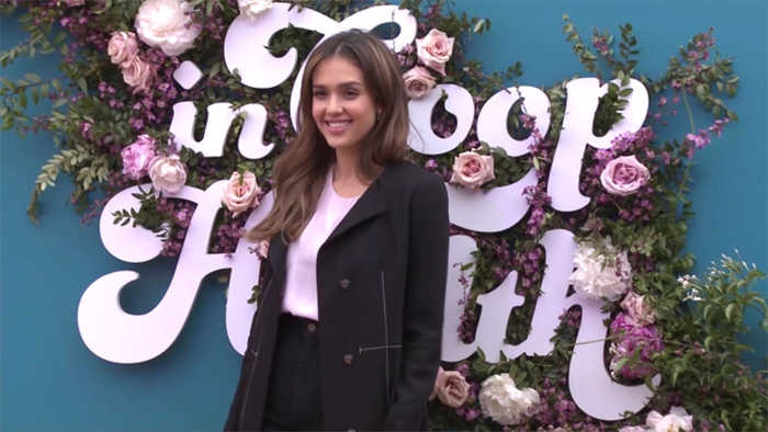 Jessica Alba once 'stopped eating' to avoid male attention in Hollywood
