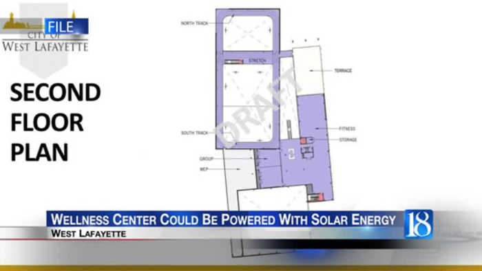 Wellness Center could be powered with solar energy