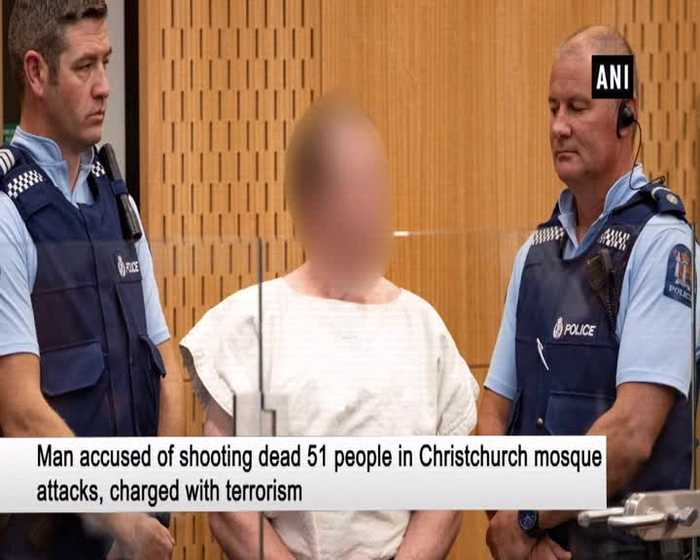 NZ mosque attack suspect Brenton Tarrant charged with terrorism