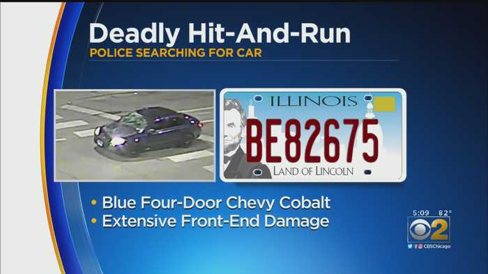 Police Release Photo Of Car Involved In Fatal Hit-And-Run