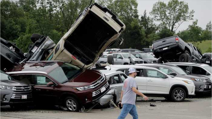 Severe Weather And Tornadoes Rip Through Midwest