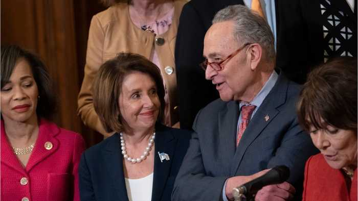 Nancy Pelosi and Chuck Schumer leave White House mmeeting angry
