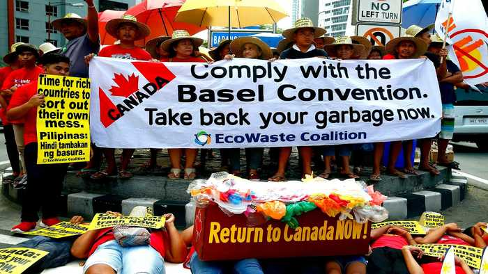 Canada to remove rubbish from Philippines by end of June