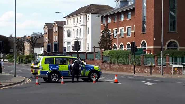 Unexploded World War II bomb found in Kingston, London