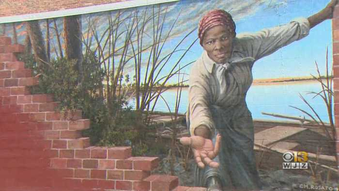New Harriet Tubman Mural Debuts In Dorchester County