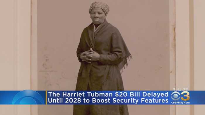 New $20 Bill Featuring Harriet Tubman Will Not Debut Next Year