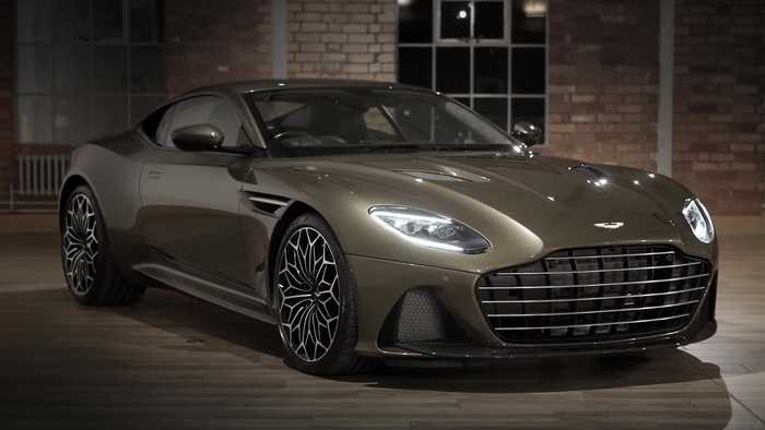 Aston Martin On Her Majestys Secret Service DBS Superleggera Special Edition