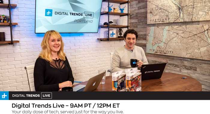 Digital Trends Live - 5.24.19 - SpaceX Launch Puts 60 Satellites Into Orbit + Game of Thrones Blood Moon