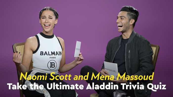 Naomi Scott and Mena Massoud Quizzed Each Other With Aladdin Trivia, and It's Harder Than You Think