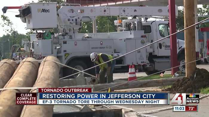 Power should be restored in Jefferson by end of Saturday