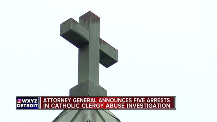 5 Michigan Catholic priests facing sexual abuse charges