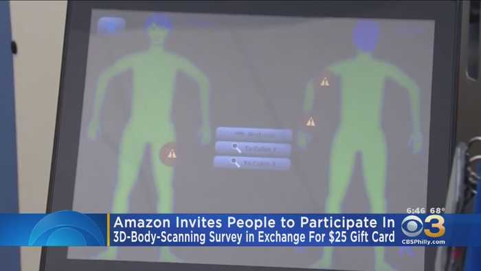 Amazon Offering Free Gift Cards For Body Scans