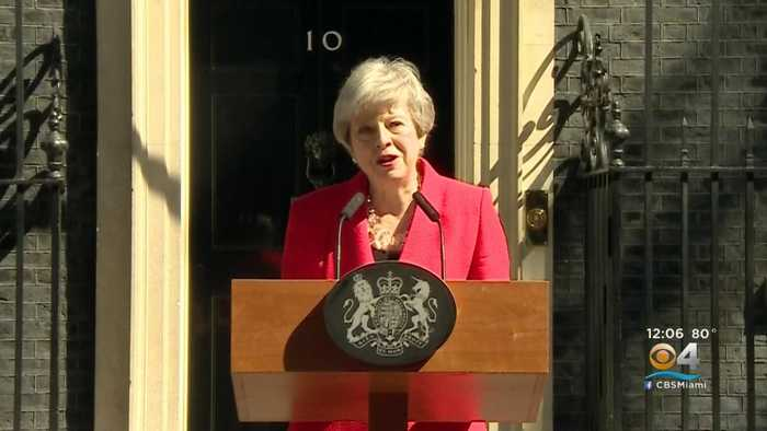 UK Prime Minister Theresa May To Resign