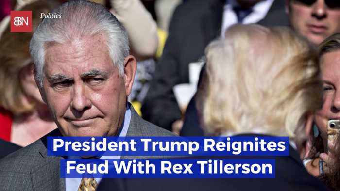 Trump And Tillerson Are Fighting Each Other Again