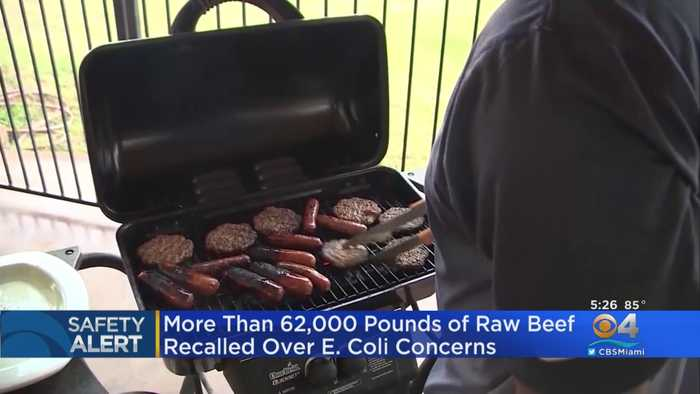 Thousands Of Pounds Of Raw Beef Recalled Nationwide