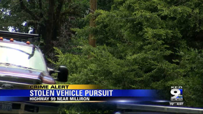 Lane County deputies fire at driver accused of stealing car
