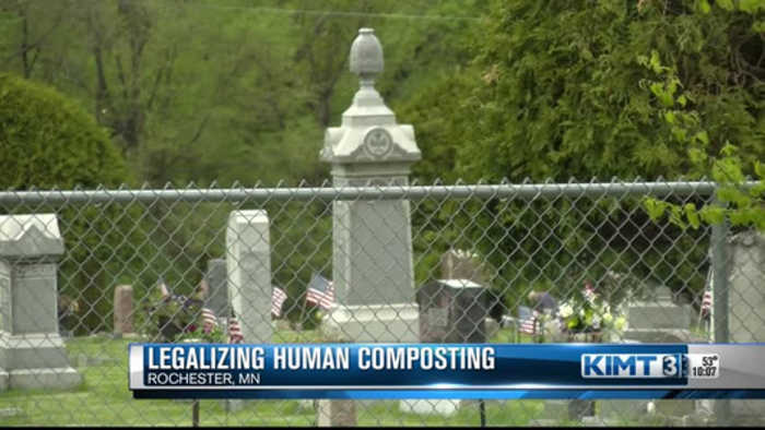 What do you think of human composting?