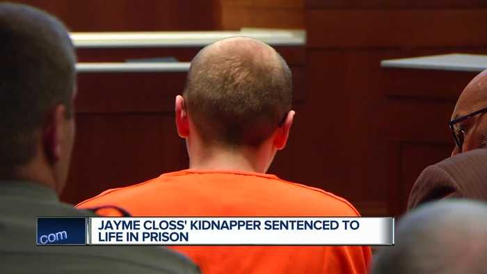 Jayme Closs' Kidnapper Sentenced To Life In Prison