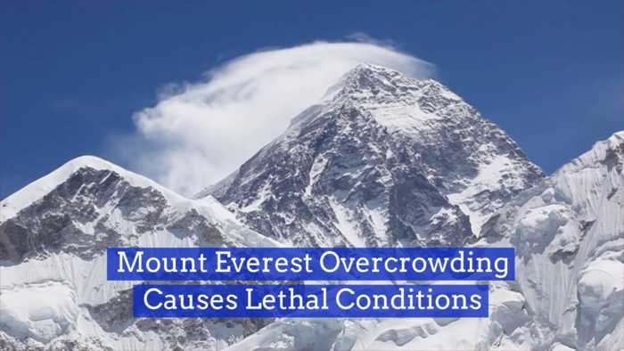 Mt. Everest Travel Becomes An Issue
