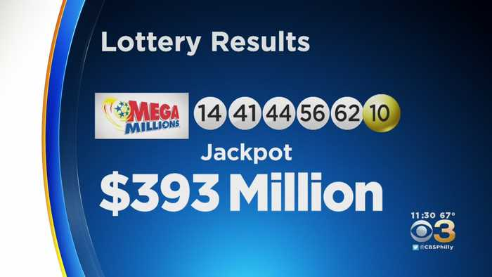 Winning Numbers From $393 Million Mega Million Jackpot