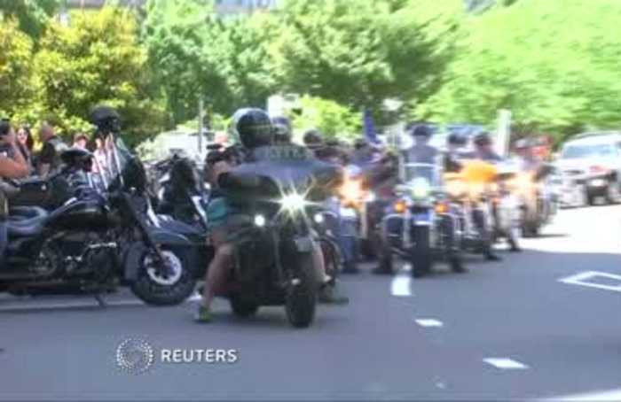 Emotions high as Rolling Thunder preps for final ride