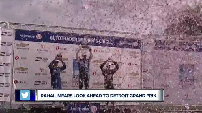 Graham Rahal, Rick Mears look ahead to Detroit Grand Prix
