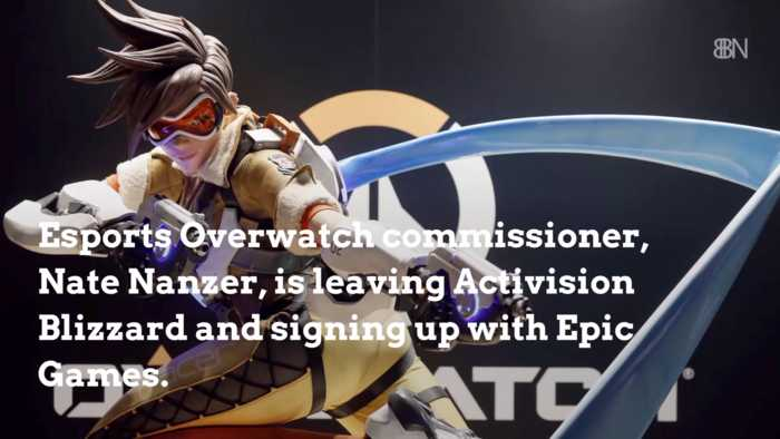 The Overwatch League Commissioner Leaves For Epic Games