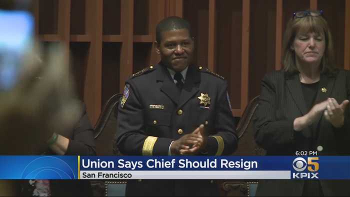 SF Police Union Calls For Chief To Resign After He Issues Apology For Raid On Journalist's Home