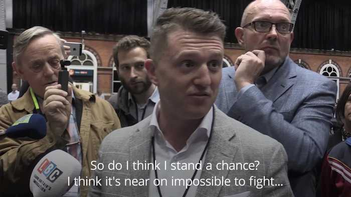 Tommy Robinson cries foul in EU election race
