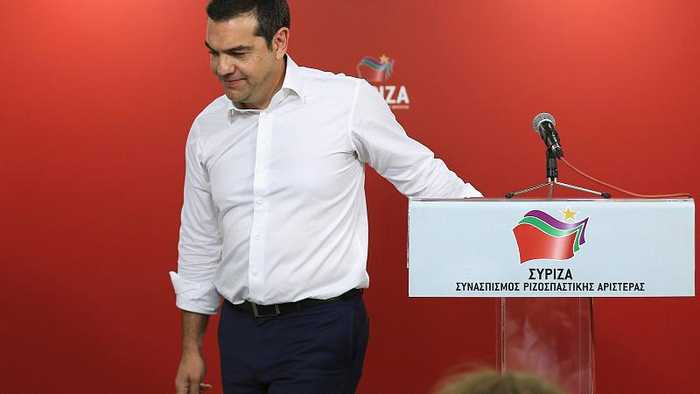 Greece headed to snap elections after Syriza defeat in EU vote