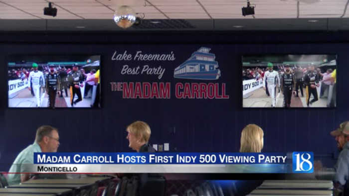 Madam Carroll hosts first Indy 500 viewing party