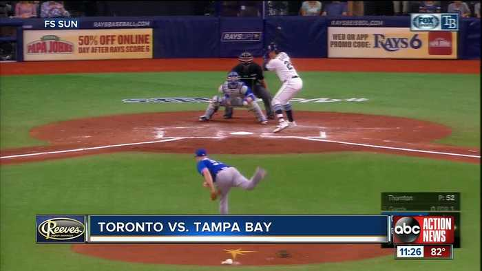Willy Adames knocks in run in 11th inning helping Tampa Bay Rays beat Toronto Blue Jays 4-3