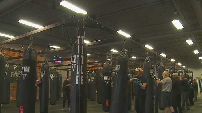 Parkinson's Patients Confront Symptoms At Boxing Gym