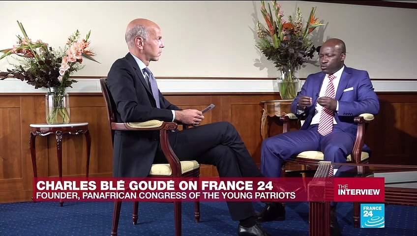 Ivorian politician Charles Blé Goudé says he is 'not in a rush' to be president