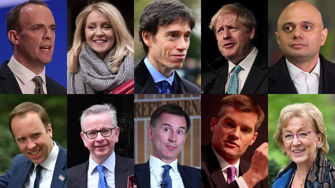 Tory leadership race: Who are the ten contenders?