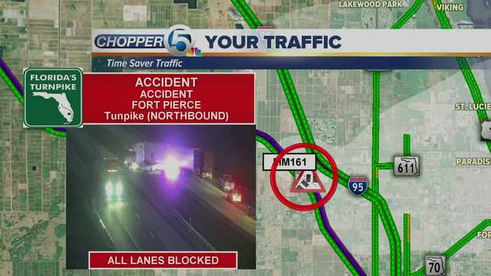 2 lanes open on I-95 southbound after deadly - One News Page