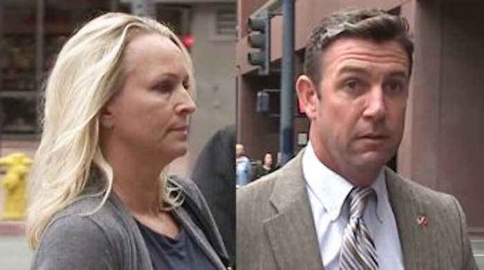 Rep. Duncan Hunter`s Wife Changes Plea to Guilty in Corruption Case